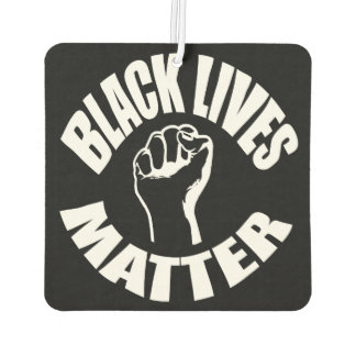 """BLACK LIVES MATTER"" CAR AIR FRESHENER"
