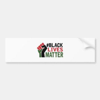 #Black Lives Matter Car Bumper Sticker