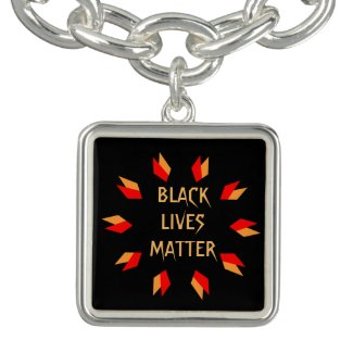 Black Lives Matter Charm Bracelet