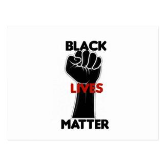 Black Lives Matter Equality Rights Postcard