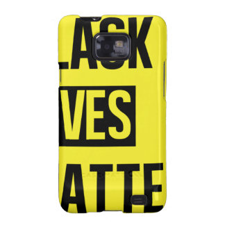 Black Lives Matter Galaxy S2 Cover