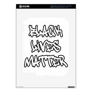 Black Lives Matter Graffiti Decal For iPad 3