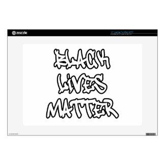 Black Lives Matter Graffiti Skin For Laptop