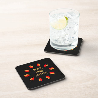 Black Lives Matter Hard Plastic Coasters