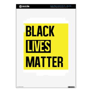 Black Lives Matter iPad 3 Skin