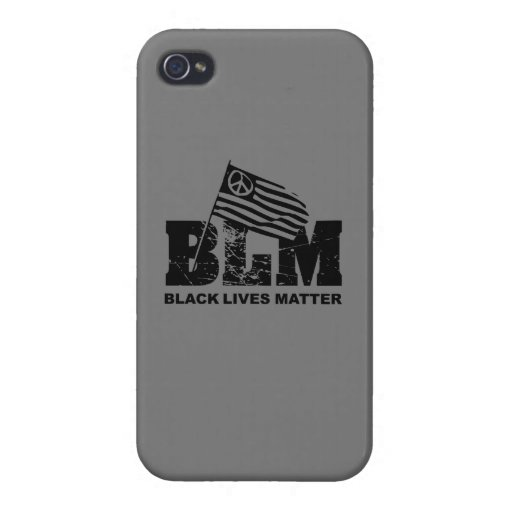 Black Lives Matter Case For iPhone 4