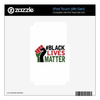 #Black Lives Matter iPod Touch 4G Skins