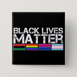 Black Lives Matter LGBT Button