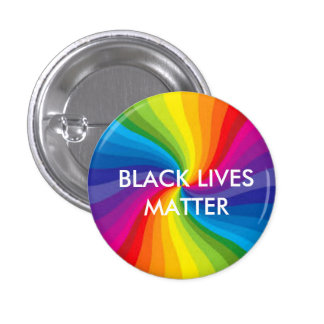 Black Lives Matter/LGBTQ Pinback Button