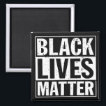 """BLACK LIVES MATTER"" MAGNET<br><div class=""desc"">""BLACK LIVES MATTER"" MAGNET</div>"