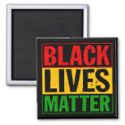 """BLACK LIVES MATTER"" MAGNET"