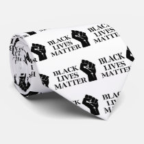 Black Lives Matter Neck Tie