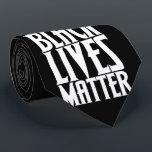 """Black lives matter neck tie<br><div class=""""desc"""">Black lives matter</div>"""