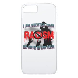 Black  Lives Matter-No Racism iPhone 8/7 Case