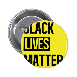 Black Lives Matter Pinback Button
