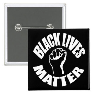 """BLACK LIVES MATTER"" PINBACK BUTTON"