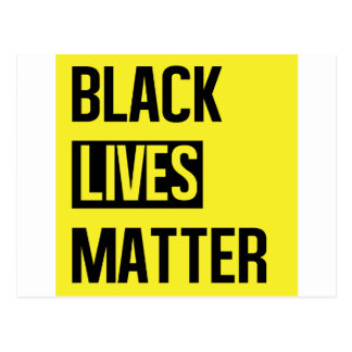 Black Lives Matter Postcard