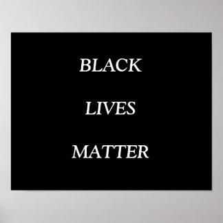 BLACK LIVES MATTER, POSTER