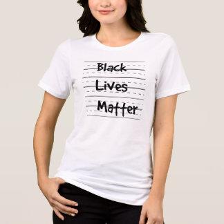 Black Lives Matter School Paper Shirt