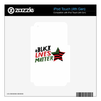 #Black Lives Matter Skin For iPod Touch 4G