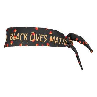 Black Lives Matter Tie Headband