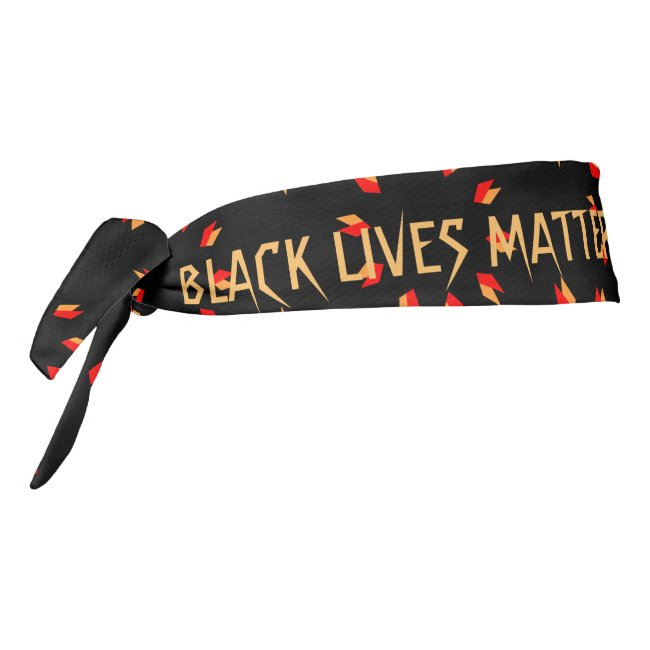 Black Lives Matter Tie Headband