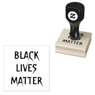 Black Lives Matter Wood Stamp