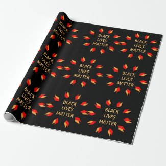 Black Lives Matter Wrapping Paper