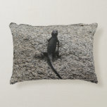 Black Lizard Decorative Pillow