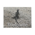 Black Lizard Doormat