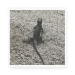 Black Lizard Napkin