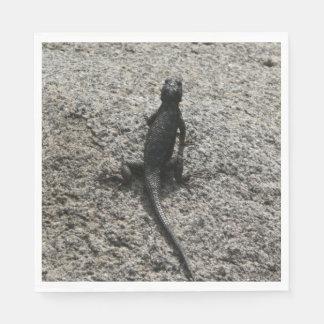 Black Lizard Napkin