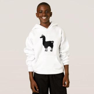 Black Llama Hoodie