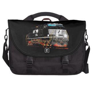 Black Locomotive Commuter Bags