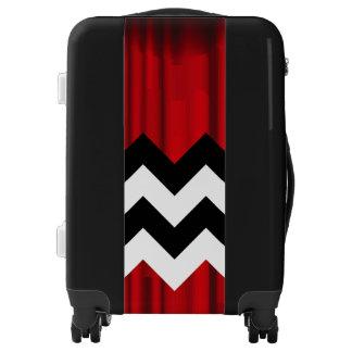 black lodge chevron luggage