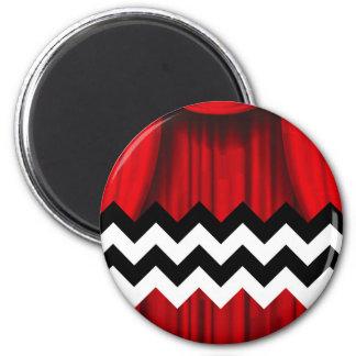 black lodge chevron magnet