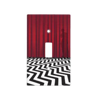 Black Lodge Red Room Light Switch Cover