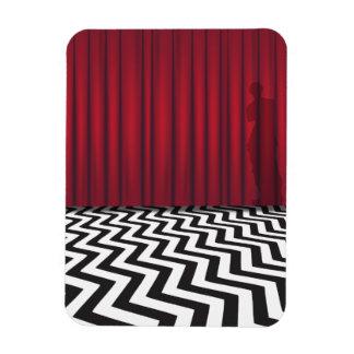 Black Lodge Red Room Magnet