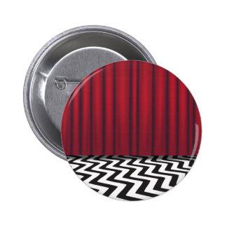 Black Lodge Red Room Pinback Button