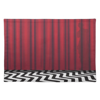 Black Lodge Red Room Placemat