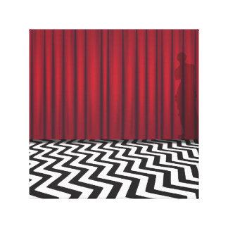 Black Lodge Twin Peaks Canvas Print