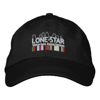 Black Logo Hat Embroidered Hat
