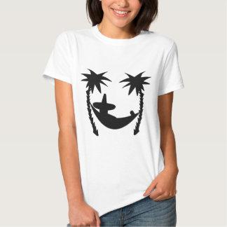 black lounger icon t shirt
