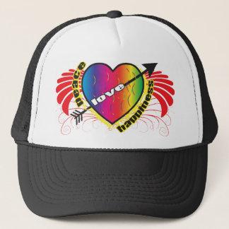 Black Love/Happiness Hat