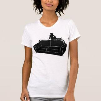Black Love Seat T-shirts