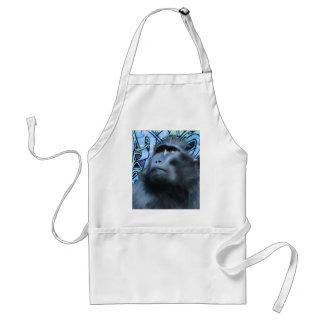 Black Macaque Apron