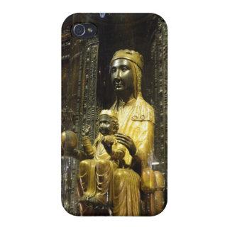 black madonna montserrat case for iPhone 4