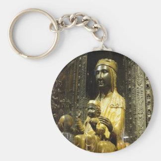 black madonna montserrat keychain
