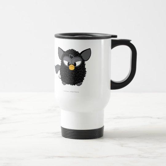 Black Magic Furby Travel Mug