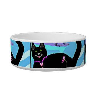 Black Magic Kitty food bowl